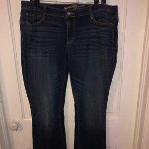 Arizona plus size stretch jean